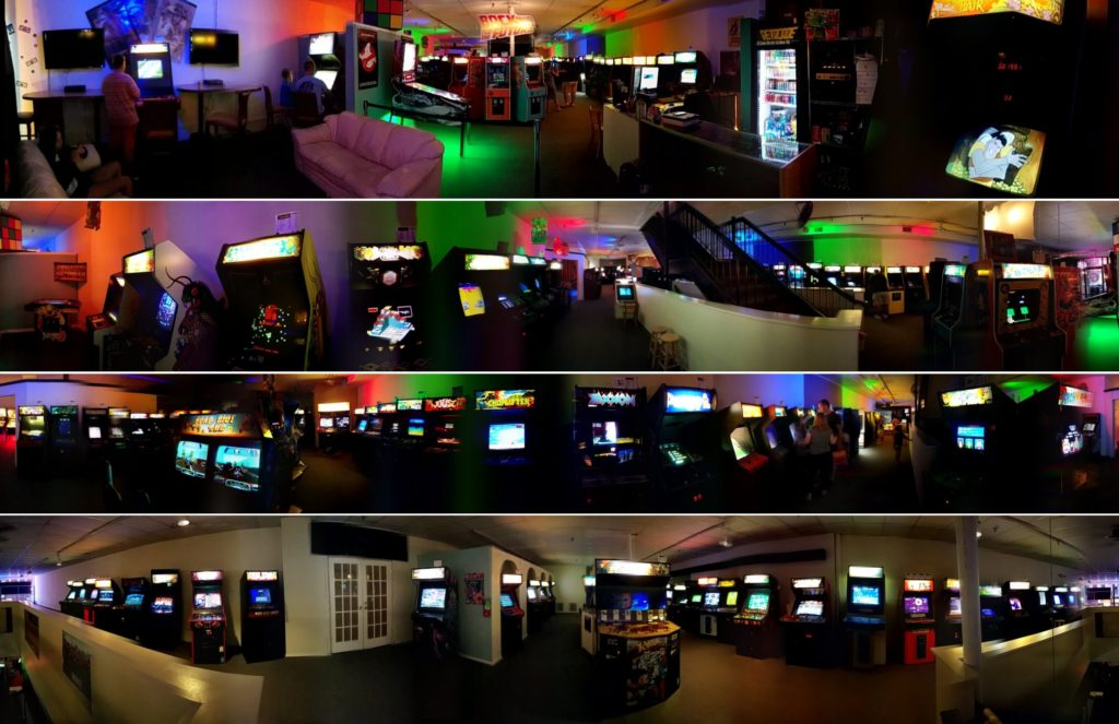 Underground Retrocade panoramic